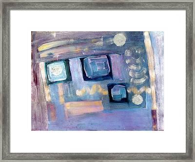 Desktop  Framed Print by Don  Wright