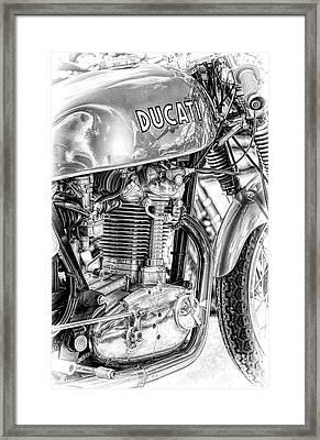Desmo Mk 3 Framed Print by Tim Gainey