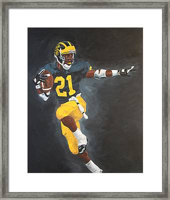 Desmond Heisman Framed Print by Travis Day