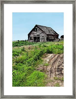 Desolate Framed Print by Betty LaRue