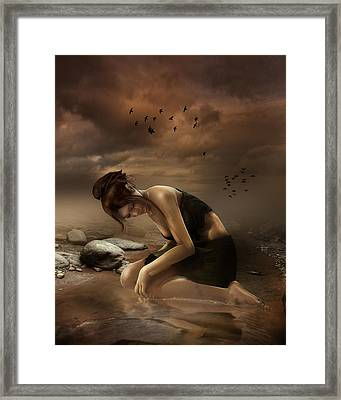Desolation Framed Print by Mary Hood