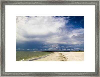 Desoto Beach Framed Print