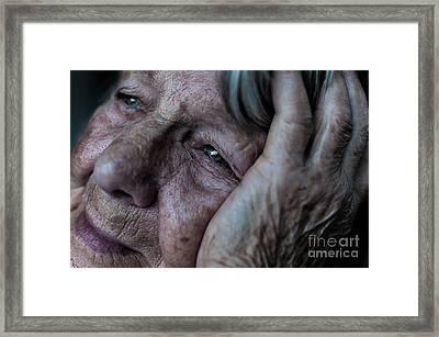 Despair Framed Print by Chenique Slier