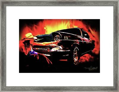 Desperado Framed Print by Chas Sinklier