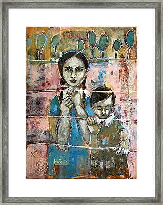 Desperate Framed Print by Jane Spakowsky