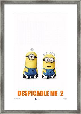 Despicable Me 2  Framed Print