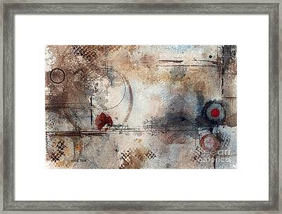 Desperation Framed Print by Monte Toon