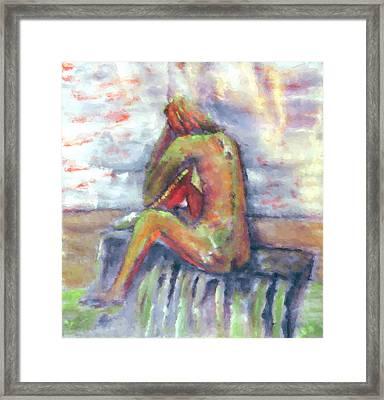 Despondent Framed Print by Shelley Bain