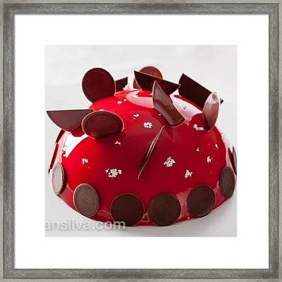 Dessert By The Famous Chef Antonio Framed Print
