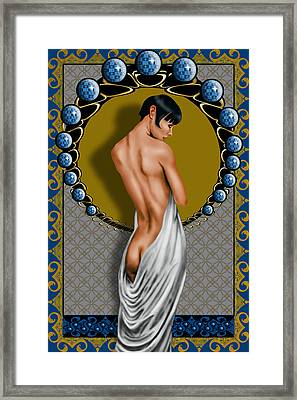 Dessin Lumiere Framed Print by Troy Brown