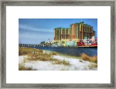 Destin Harbor # 2 Framed Print