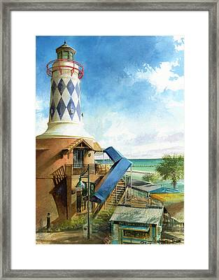 Destin Lighthouse Framed Print by Andrew King