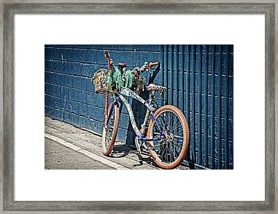Destination Framed Print by Camille Lopez