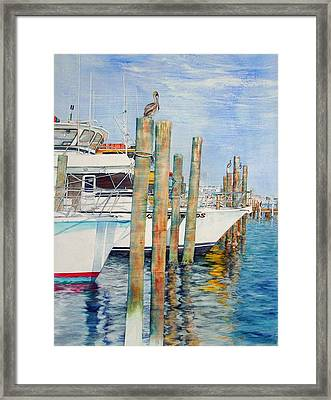 Destination Destin Nr. One Framed Print