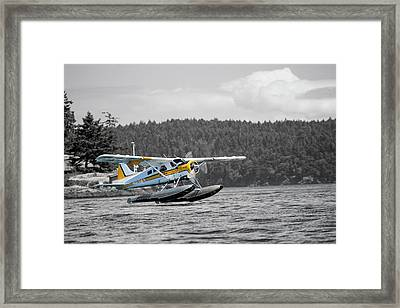 Destination Friday Harbor Framed Print