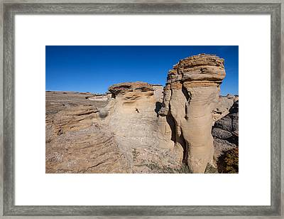 Framed Print featuring the photograph Destination Hoodoos by Fran Riley