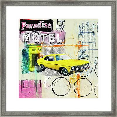 Destination Paradise Framed Print by Elena Nosyreva