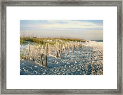 Destination Serenity Framed Print by Sennie Pierson