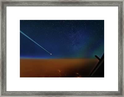 Destination Universe Framed Print