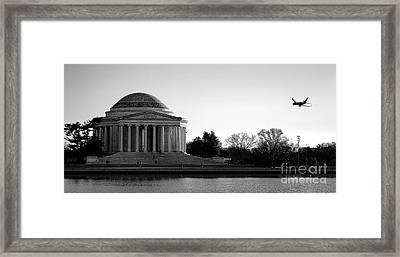 Destination Washington  Framed Print by Olivier Le Queinec