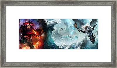 Destiny Of Velious Framed Print by Ryan Barger