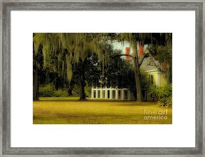 Destrehan Plantation 2 Framed Print by Kathleen K Parker