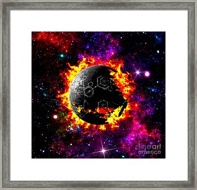 Destroyed Framed Print by Naomi Burgess