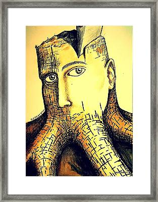 Destroying Ignorance Framed Print by Paulo Zerbato