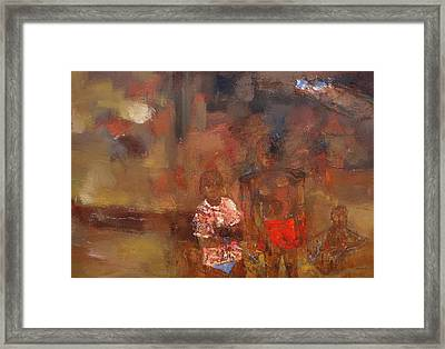 Destructed From Their Game Framed Print by Ronex Ahimbisibwe