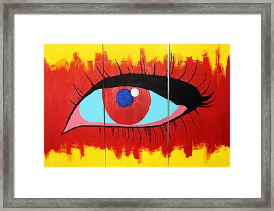 Detached From Reality Framed Print by John Wesley