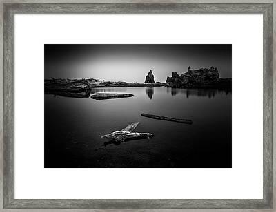 Detachment Framed Print by Jon Glaser