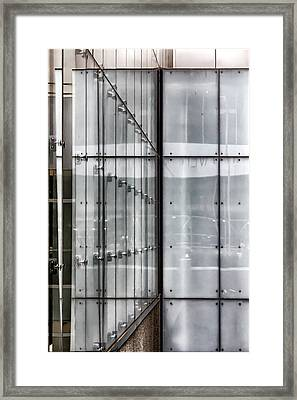 Detail Citicorp Building Nyc Framed Print by Robert Ullmann