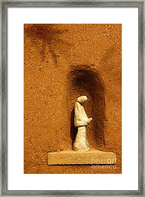Framed Print featuring the photograph Detail Mission Of The Sun by Vivian Christopher