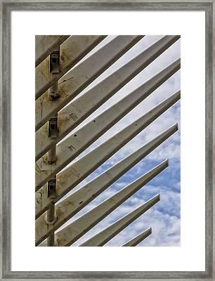 Detail Of Construction Framed Print by Robert Ullmann