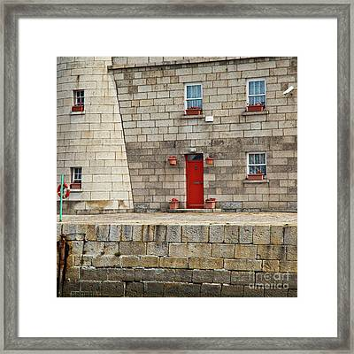 Detail Of Howth Lighthouse Framed Print by Gabriela Insuratelu