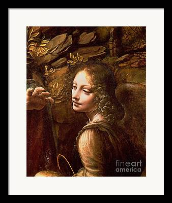 Rock Angels Framed Prints