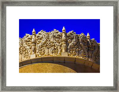 Detail The Lensic Performing Arts Center Framed Print