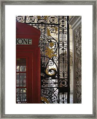 Details .. The Royal Academy Of Arts Framed Print