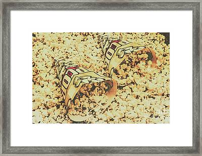 Details From The Old Drive-in  Framed Print by Jorgo Photography - Wall Art Gallery