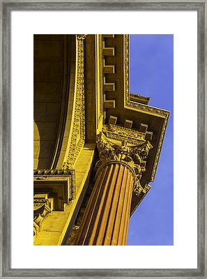 Details Palace Of Fine Arts Framed Print by Garry Gay