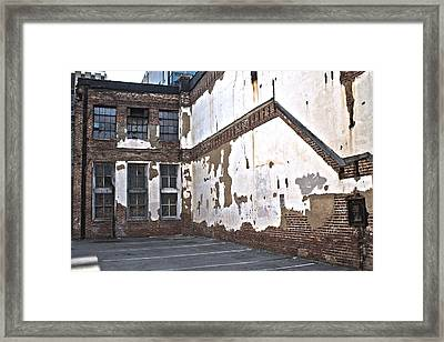 Deteriorated Framed Print
