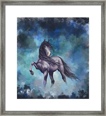 Determination Framed Print by Kate Black