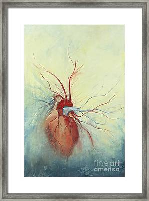 Determination Framed Print by Priscilla  Jo