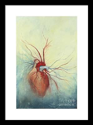 Heart Framed Prints