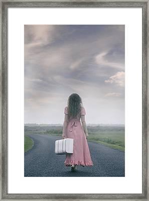 Determined Framed Print by Joana Kruse