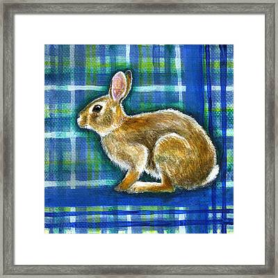 Framed Print featuring the painting Determined by Retta Stephenson