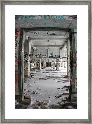 Detroit Abandoned 1 Framed Print