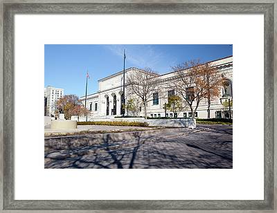 Detroit Institute Of Arts Framed Print