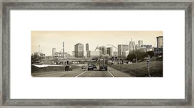 Detroit Michigan Framed Print