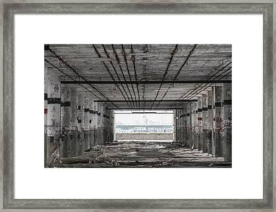 Detroit Packard Plant  Framed Print by John McGraw